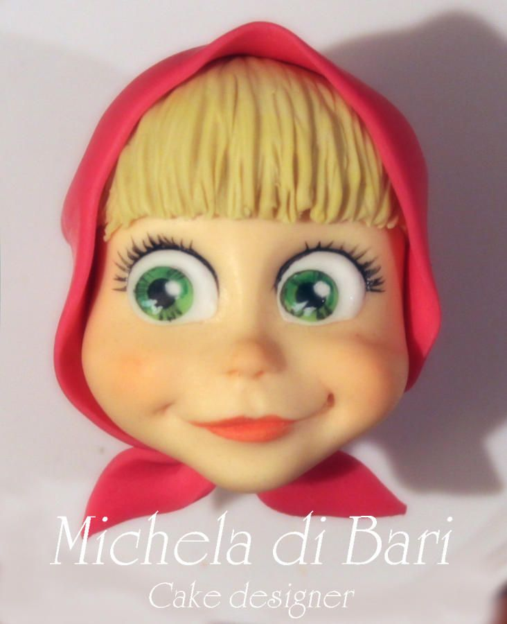 My Masha and link for tutorial ♥ - Cake by Michela di Bari