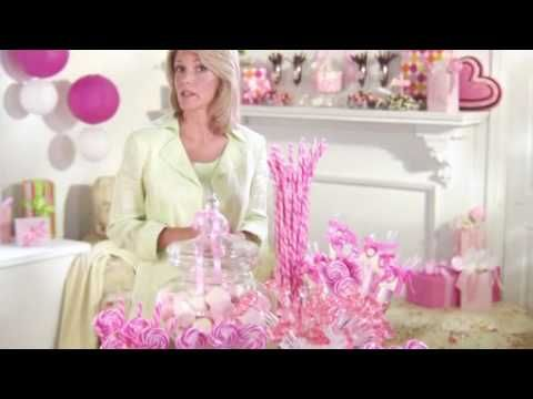 Candy warehouse, wholesale candy by the color, theme, brand, etc. Gives you ideas and helps set up your own candy bar!