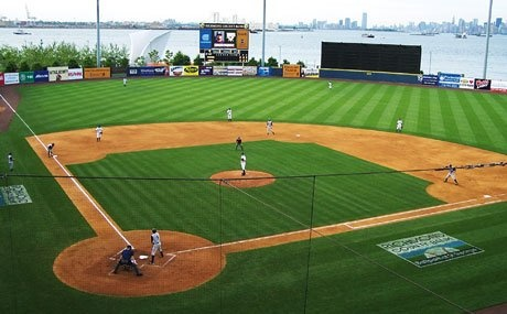 Richmond County Ball Park, Home of the Staten Island Yankees,