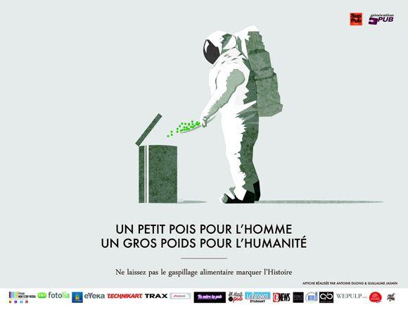 Campagne contre le gaspillage alimentaire