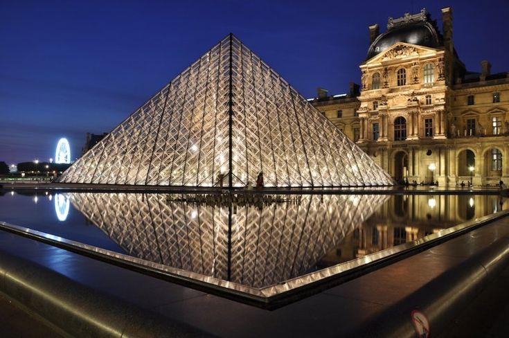 Музей Лувр достопримечательность парижа