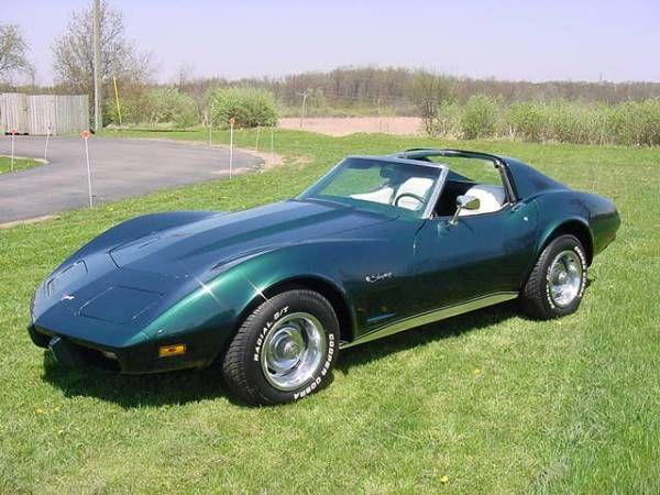 1976 Dark Green Corvette - 2,038 units | Chevy Corvette ...