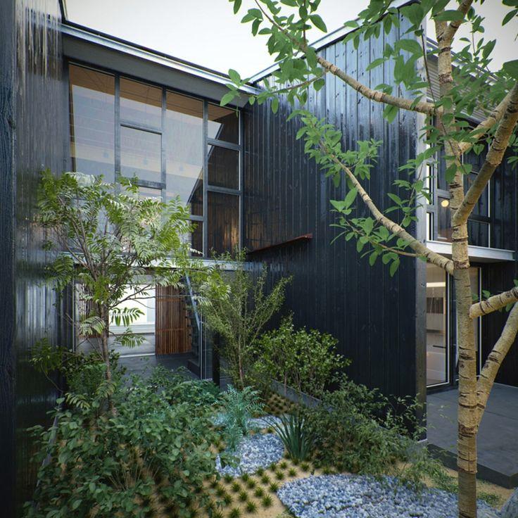 diseño paisajístico de plantas de jardín