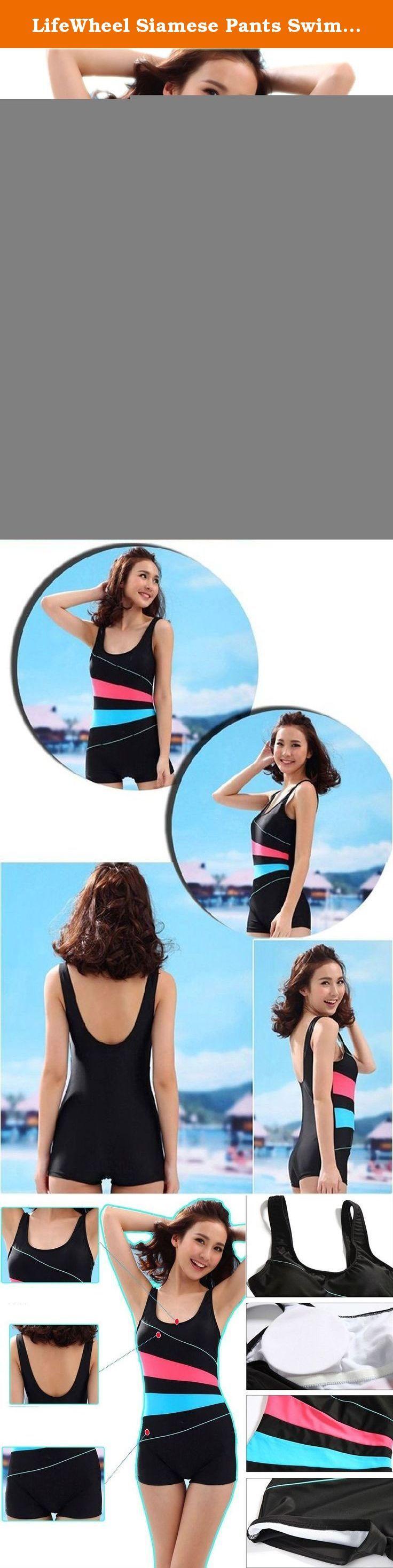 LifeWheel Siamese Pants Swimwear Movement Leisure High Elastic Swimsuit. Swimwear Size: (1cm=0.39inch) Size L: -----Bra 70A/B/C 75A/B Size L: -----Suggest Height: 150/165cm ---Suggest Weight: 37.5/50.0kg Size XL: ----Bra 75A/B/C 80A/B Size XL: ----Suggest Height: 155/165cm ---Suggest Weight: 47.5/57.5kg Size XXL: ---Bra 80A/B/C 85A/B Size XXL: ---Suggest Height: 160/170cm ---Suggest Weight: 55.0/65.0kg Size XXXL: --Bra 85A/B/C 90A/B Size XXXL: --Suggest Height: 160/170cm ---Suggest…