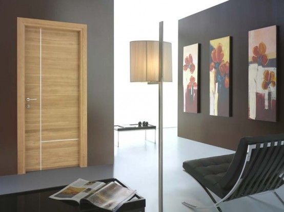 www.Toscocornici.it  (wood & stainless metal - this pattern, but a darker wood for the bedroom doors?)