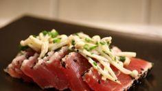Le 5 ricette con tonno fresco più leggere e saporite