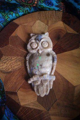 Athena's Owl on http://www.opalessence.net.au