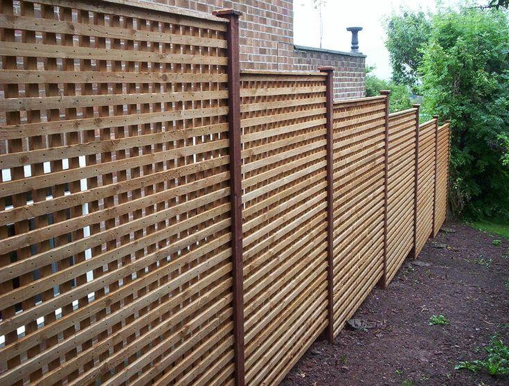 10 best wood fence ideas images on pinterest wood fences. Black Bedroom Furniture Sets. Home Design Ideas