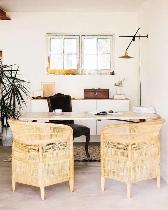 10 Spaces For Endless Summer Decor Inspiration Chic Office Decor