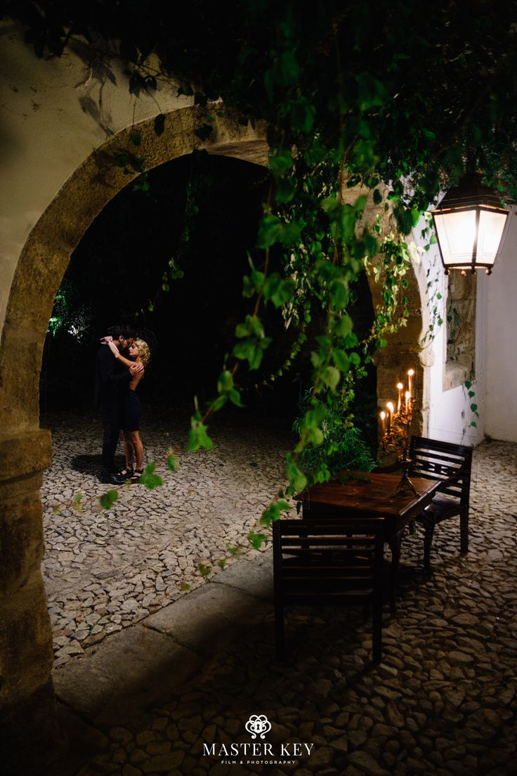 Romantic dinner. Boutique Hotel in Lamego, Douro region, Portugal
