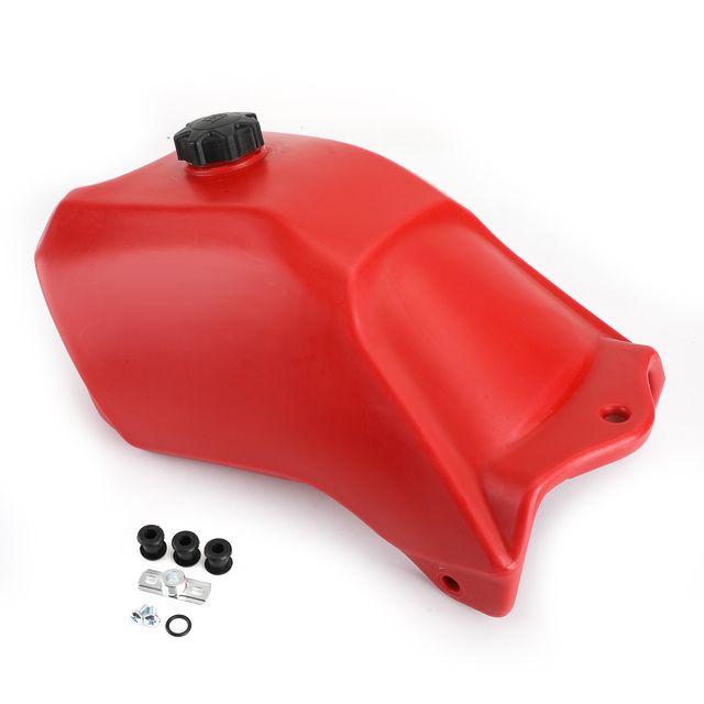 Fuel Gas Tank Rust Free Plastic For Honda Trx300 Fourtrax 1988 89 90 91 1992 Red Fuel Gas Gas Tanks Honda