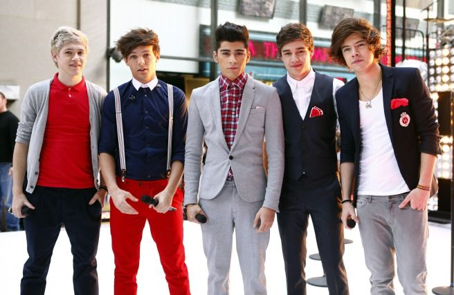 One Direction: From Boys to Men!Still looking like cute teenage boys, the guys sported each of their signature looks as they performed on the Today show in early 2012.Photo: Getty Editorial