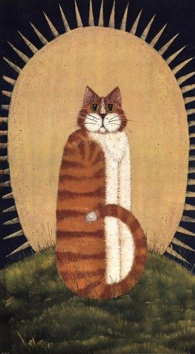 Dotty Chase | Lisa Hilliker - Day Cat - art prints and posters