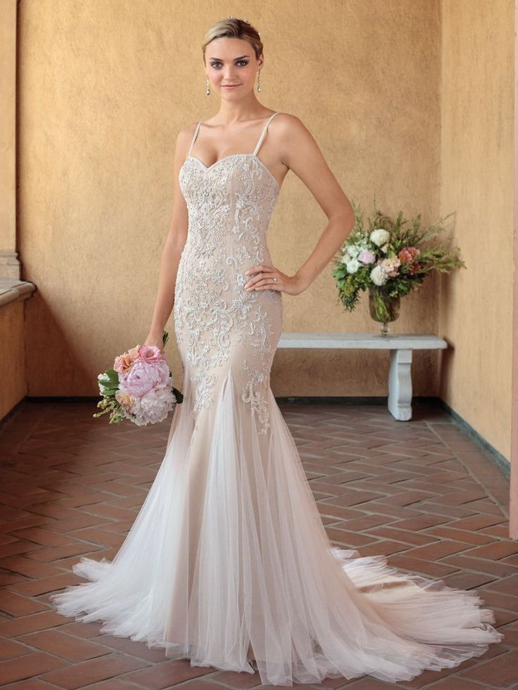 6345 best wedding dresses images on pinterest wedding frocks semi cathedral length fit and flare wedding dress in style 2321 from casablanca bridal junglespirit Choice Image