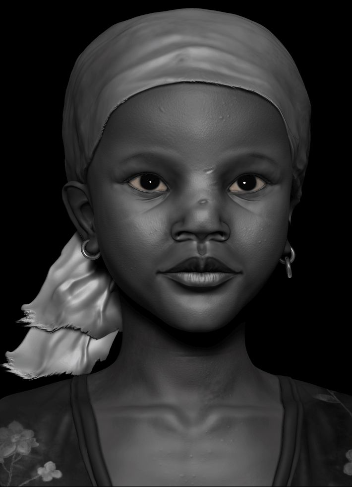Daily Sculpting by Victor Costa   Portrait   2D   CGSociety