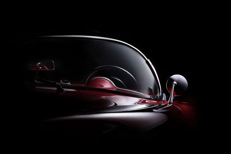 1954 Corvette fine art photography on Behance
