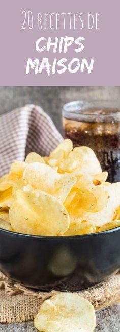 Chips de pomme de terre, chips de Kale, chips de betterave ou de patate douce... 20 recettes faciles de chips maison pour l'apéro !