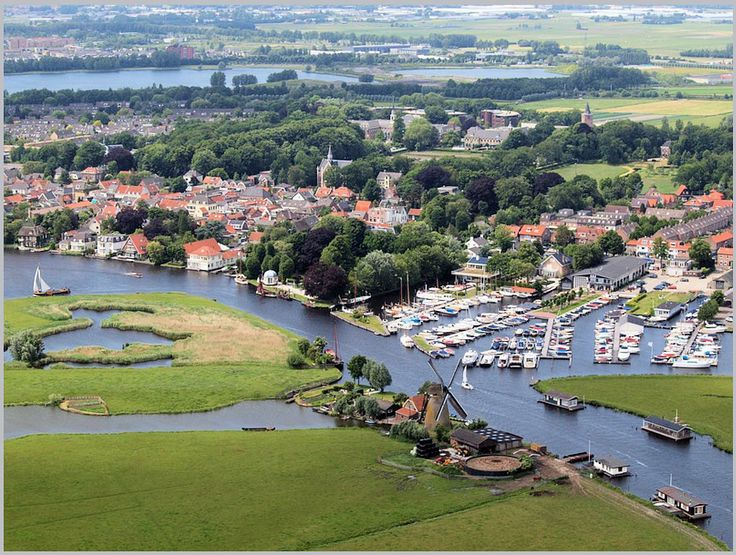 Warmond    -     Leede   -  Jachthaven 't Fort