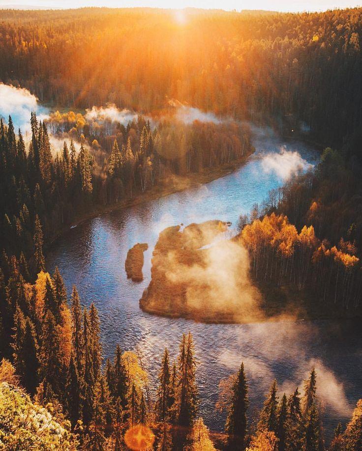 "Nature on Instagram: ""Oulanka National Park, Finland. Photography by @julia_kivela"""