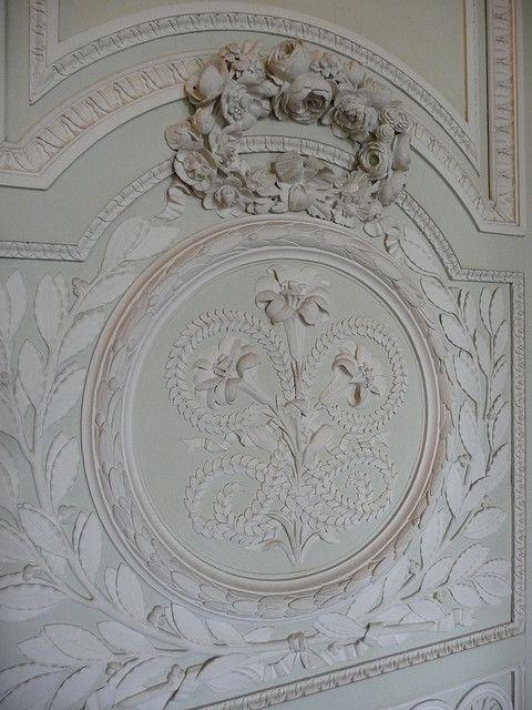 Versailles le petit trianon boiseries du salon - Salon du vin versailles ...