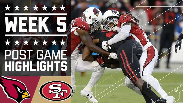 VIDEO:   Thursday Night Football: Cardinals vs. 49ers  -  October 6, 2016:  33 - 21, Cardinals  -      Cardinals vs. 49ers | NFL Week 5 Game Highlights