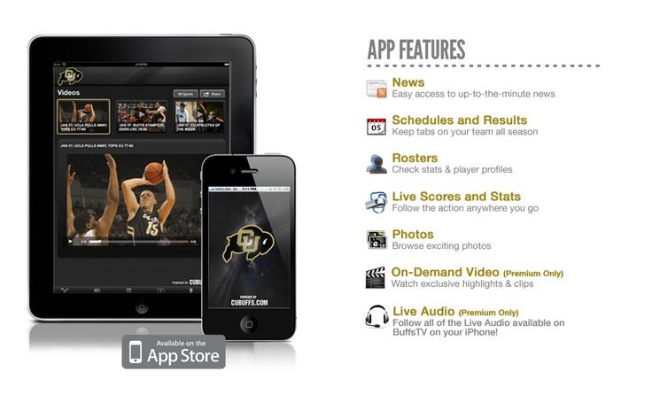 CU Athletics App. I need this.