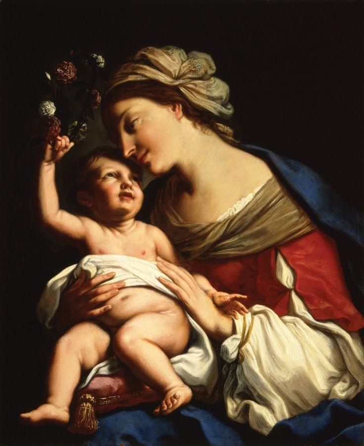 Elisabetta Sirani, Virgin and Child, 1663