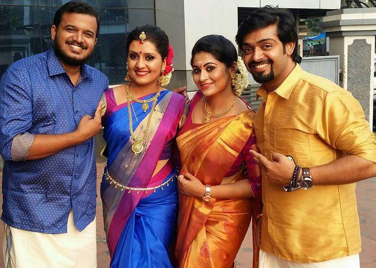 Actress Sarayu Wedding photos with Sruthi lakshmi