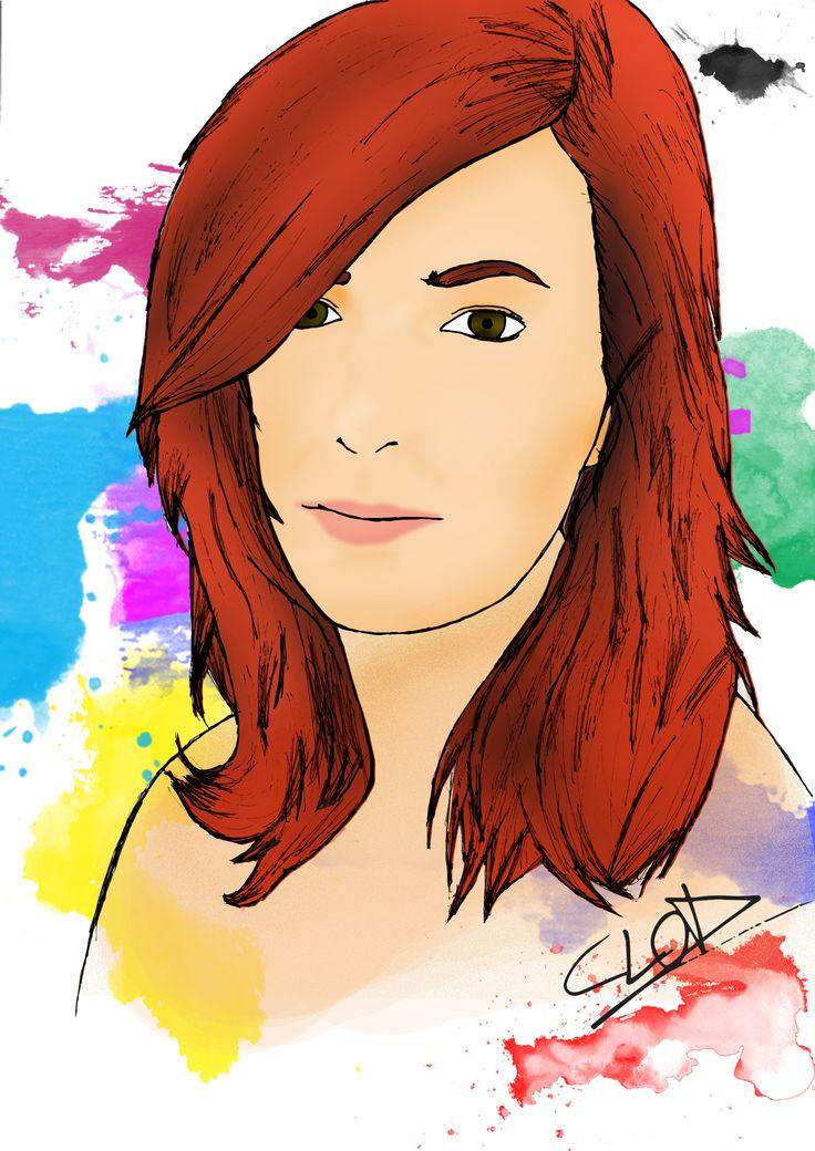 Ritratto di Susanna Casciani fatto da me