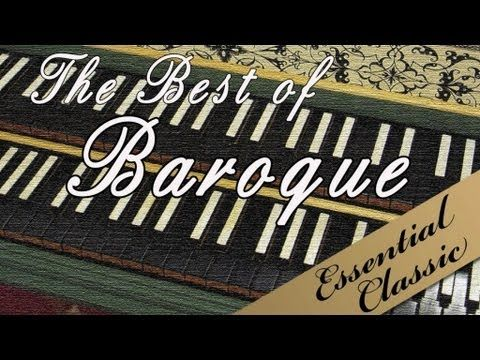 The Best of Baroque - YouTube; 2 hours of instrumental Baroque music. Great to play when working or studying