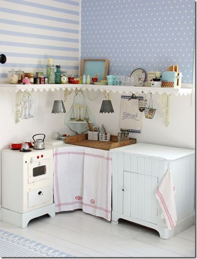 Mom Wants To Make A Little Kitchen For Paytie. It Even Has Little Bucket  Lights!