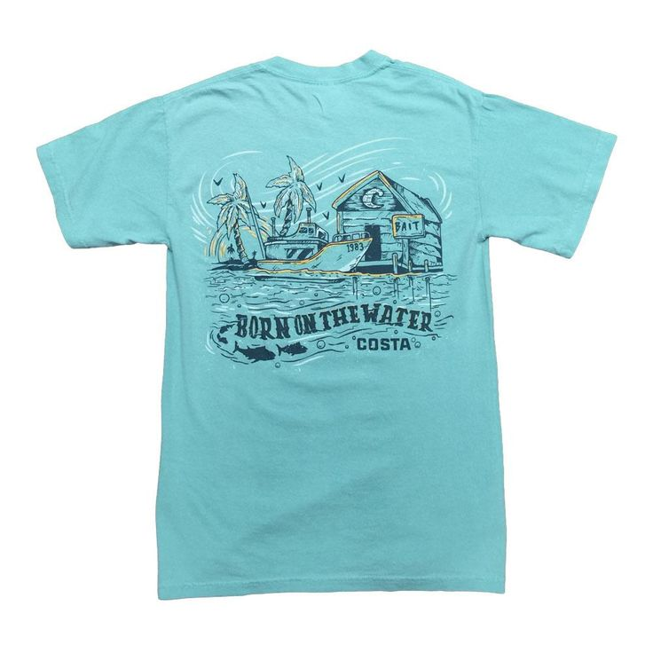 Costa Del Mar Locals T-Shirt CHALKYMINT