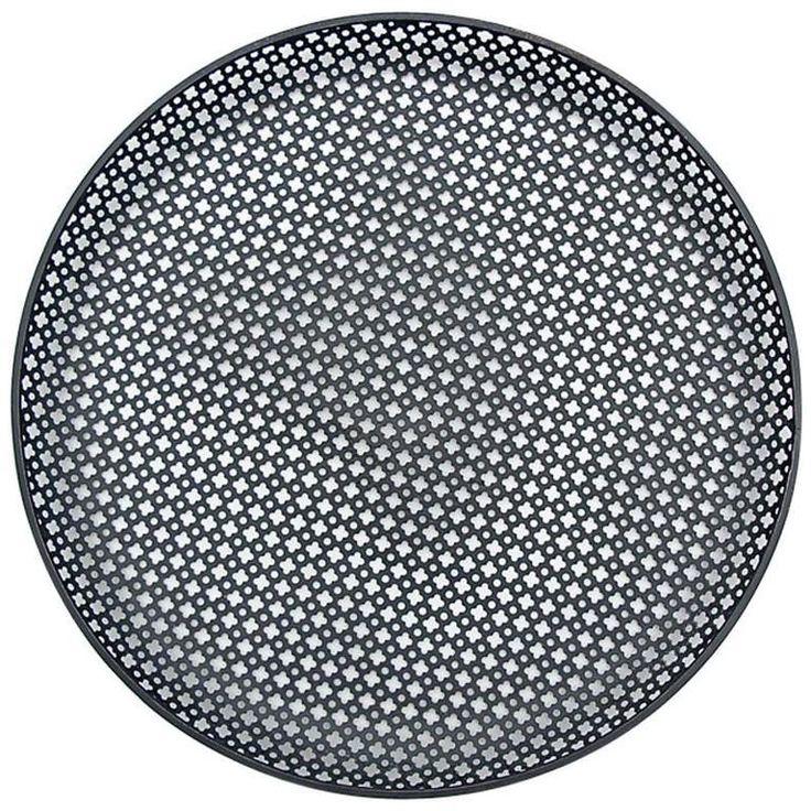 Mathieu Matégot Circular Enameled Metal Plate, circa 1950s | From a unique…