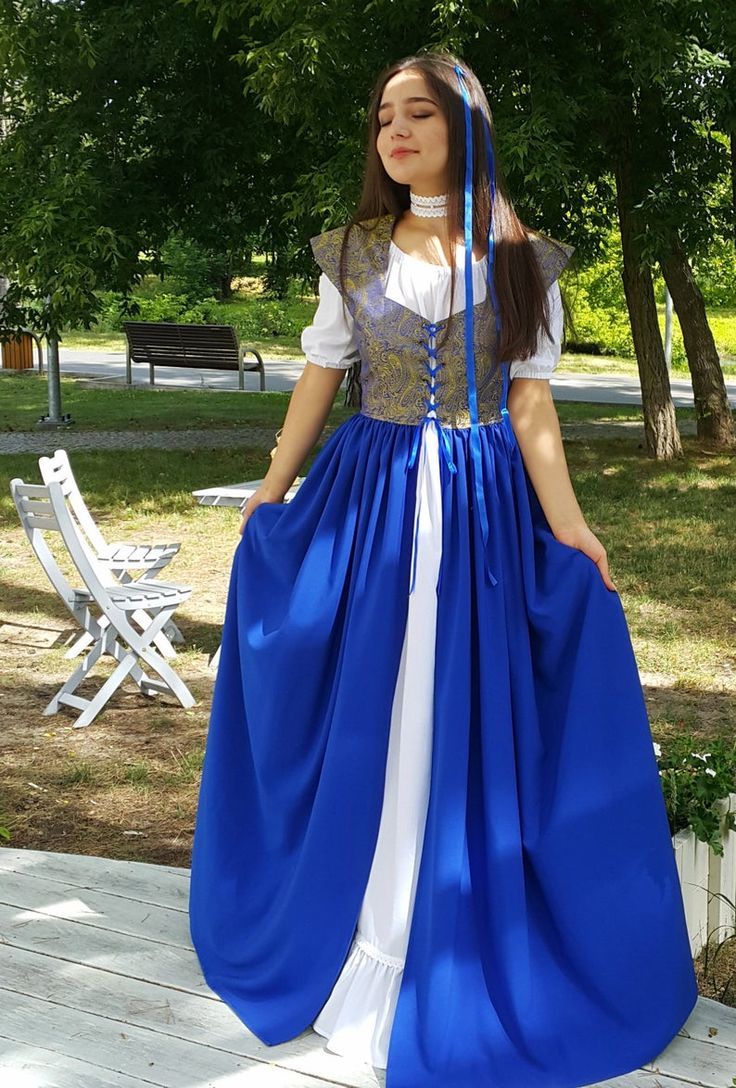 Halloween pirate costume for women. Steampunk style dress