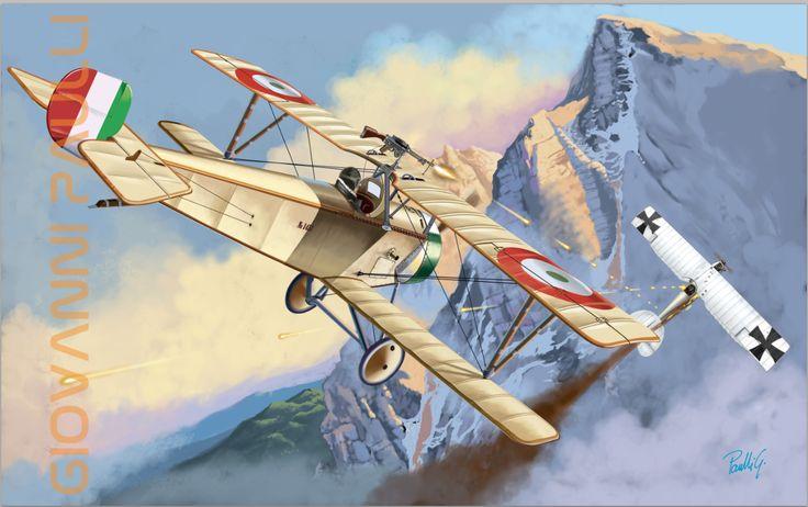 prima vittoria aerea di Francesco Baracca