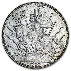 1910 Mexican Peso, Caballito (Small Horse)