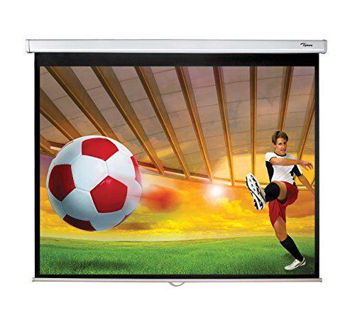 Pantalla para proyector Optoma DS-3084PWC - Altura: 8,6 cm Ancho: 191 cm Anchura…