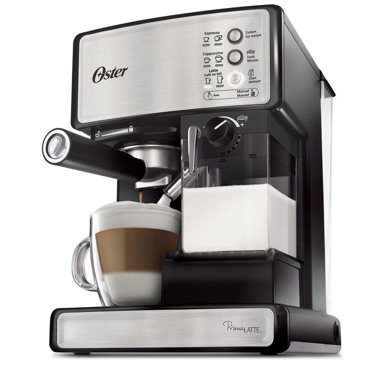 Centre du Rasoir : Oster BVSTEM6601SS Machine Espresso 3-en-1 Prima Latte
