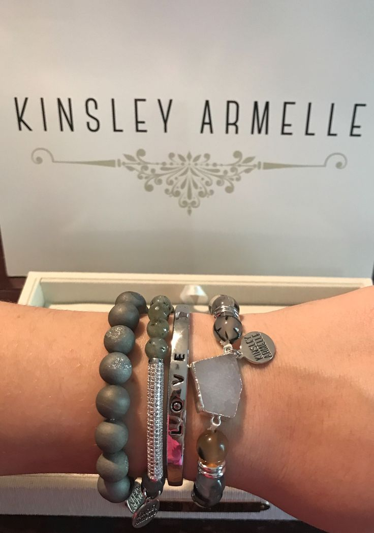 So just got this gorgeous stack and I ❤️ them!  Shop #kinsleyarmelle & enter my code TRIXI74.   gr3f.co/c/17190/z5Km4