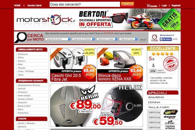 Rivenditori di ricambi e accessori per motociclette