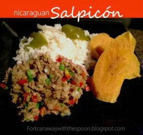 10 best nicaraguan food images on pinterest nicaraguan food the fork ran away with the spoon nicaraguan salpicn chopped beef in zesty lime nicaraguan foodeasy forumfinder Choice Image