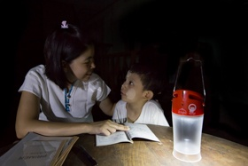 Solar lights make for brighter futures in off grid communities in Myanmar.