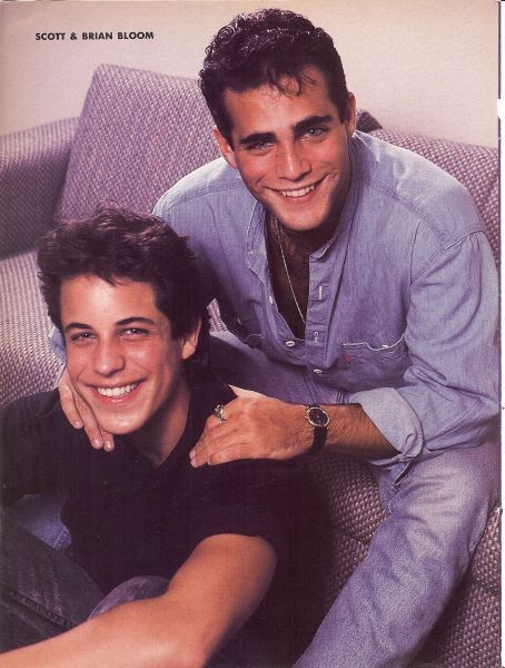 SCOTT & BRIAN BLOOM--Remember watching As the World Turns with Grandma and Grandpa all the time and my babysitter.