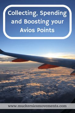Collecting, Spending and Boosting your Avios Points