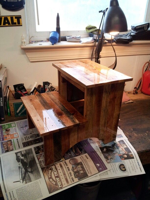 Pallet step stool & 25 best Kids step stool images on Pinterest | Kids step stools ... islam-shia.org