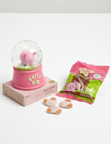 Percy Pig Snow Globe - Marks & Spencer