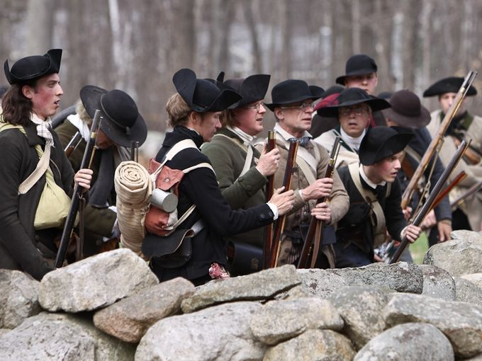 To comprehend the American Revolution, visitors must see Lexington and Concord, Mass., where it started. On Patriots' Day in April, reenactors show how the battle unfolded. #HistoryBuff #Vacation