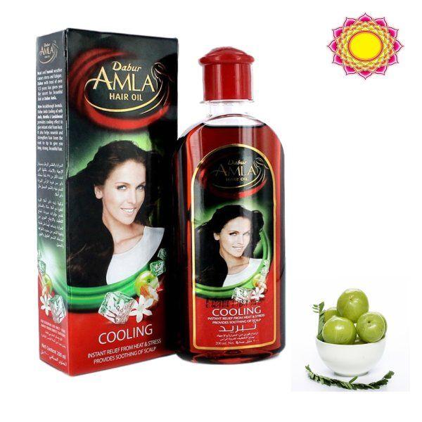 Dabur Olej do włosów AMLA Chłodząca odżywka 200ml.