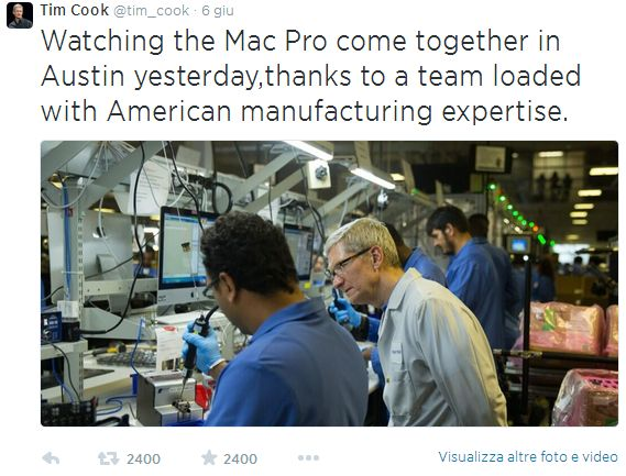 Apple usa Windows per produrre i Mac!
