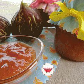 Marmellata di fichi. Condivisa da: http://cocomerorosso.blogspot.it/